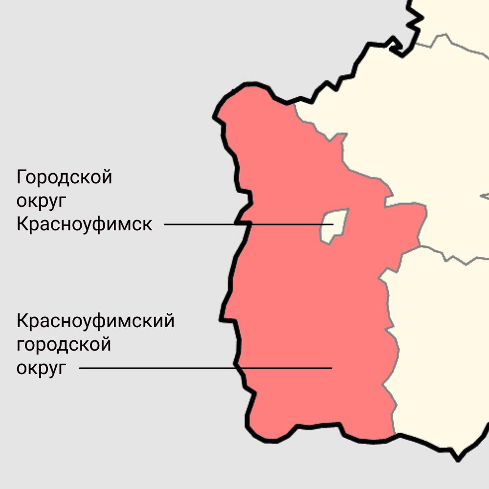 Городской округ и город Красноуфимск